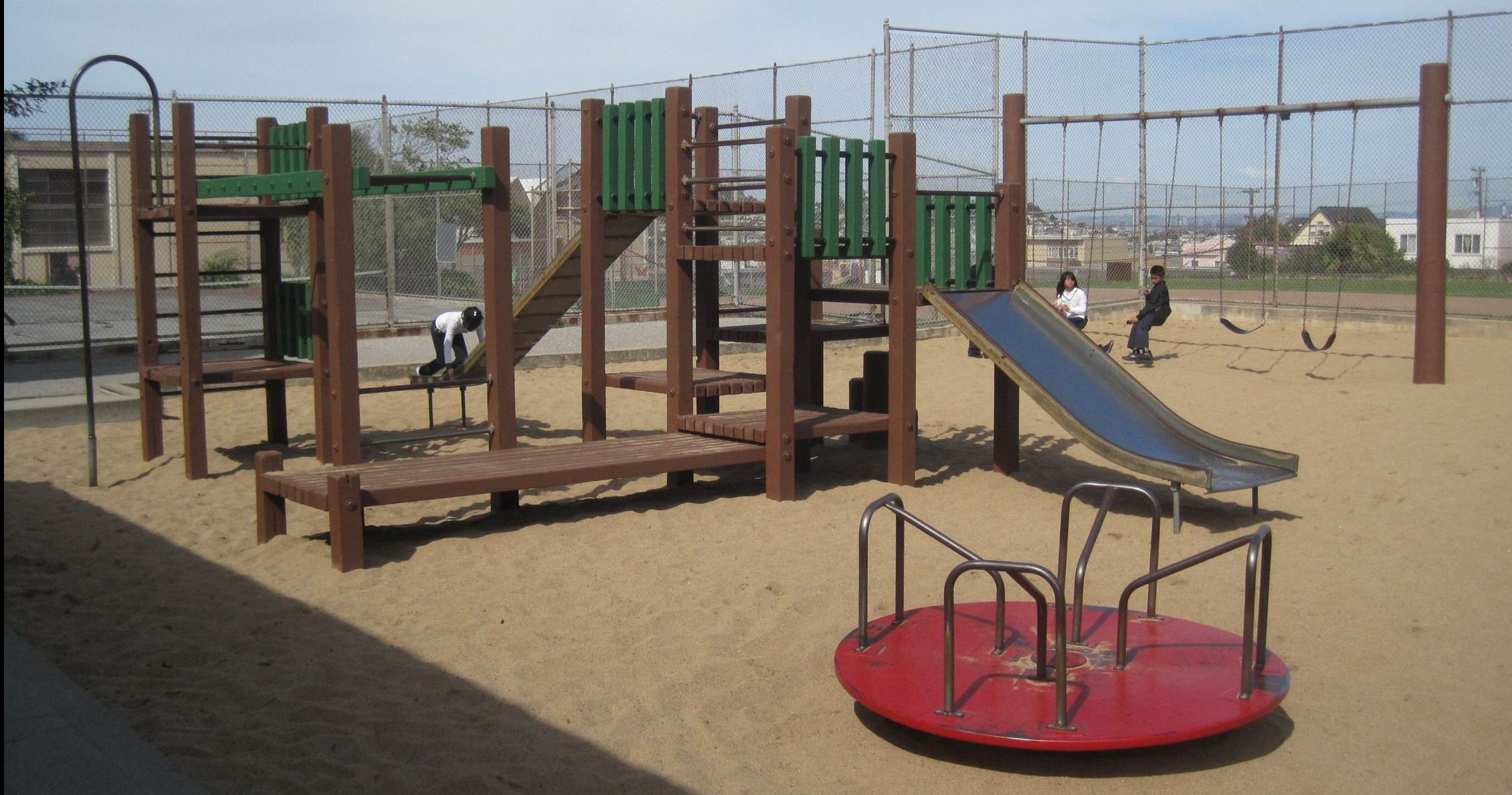Alice Chalmers Playground Prior to Construction