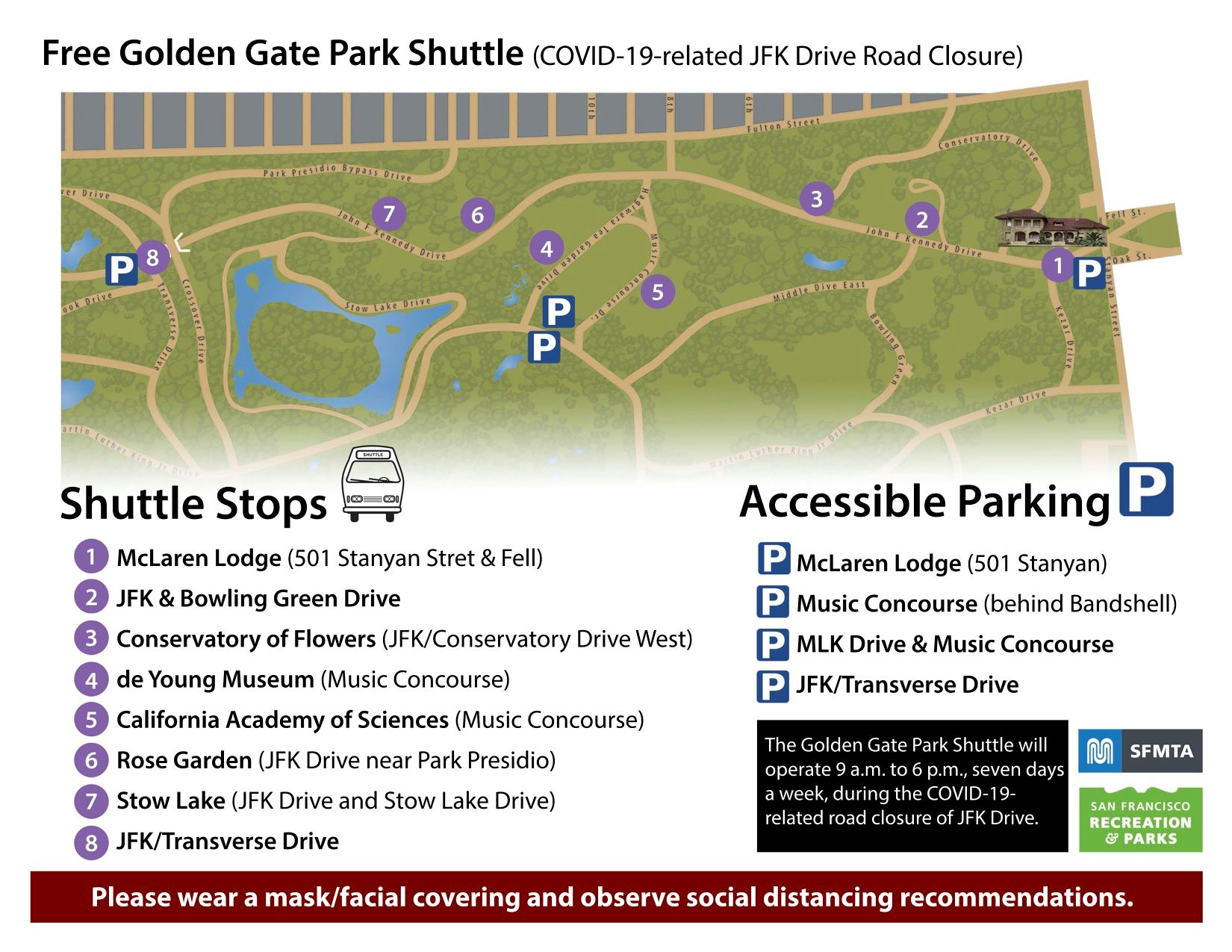ggp shuttle map image