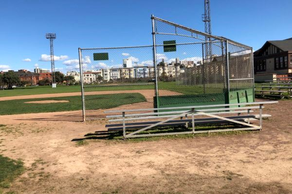 Bleachers at Diamond Three