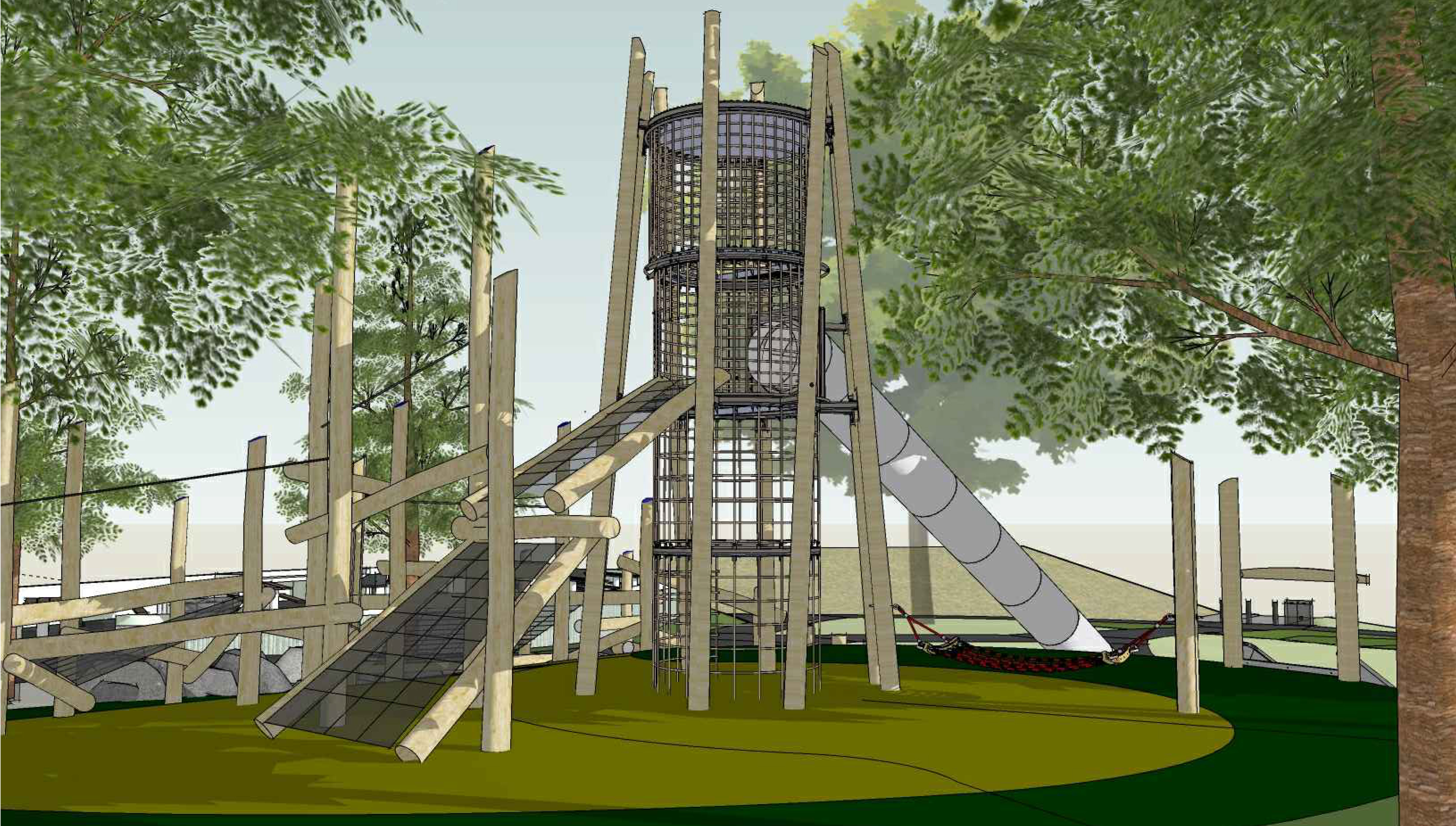 McLaren Park Slide Digital Rendering