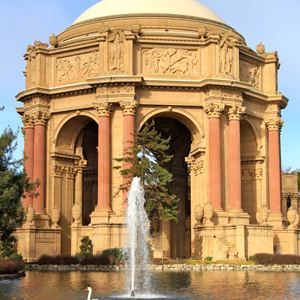 Fountain by the Palace of Fine Arts