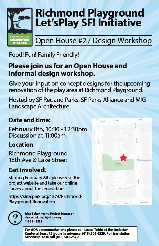 richmond playground open house feb2020
