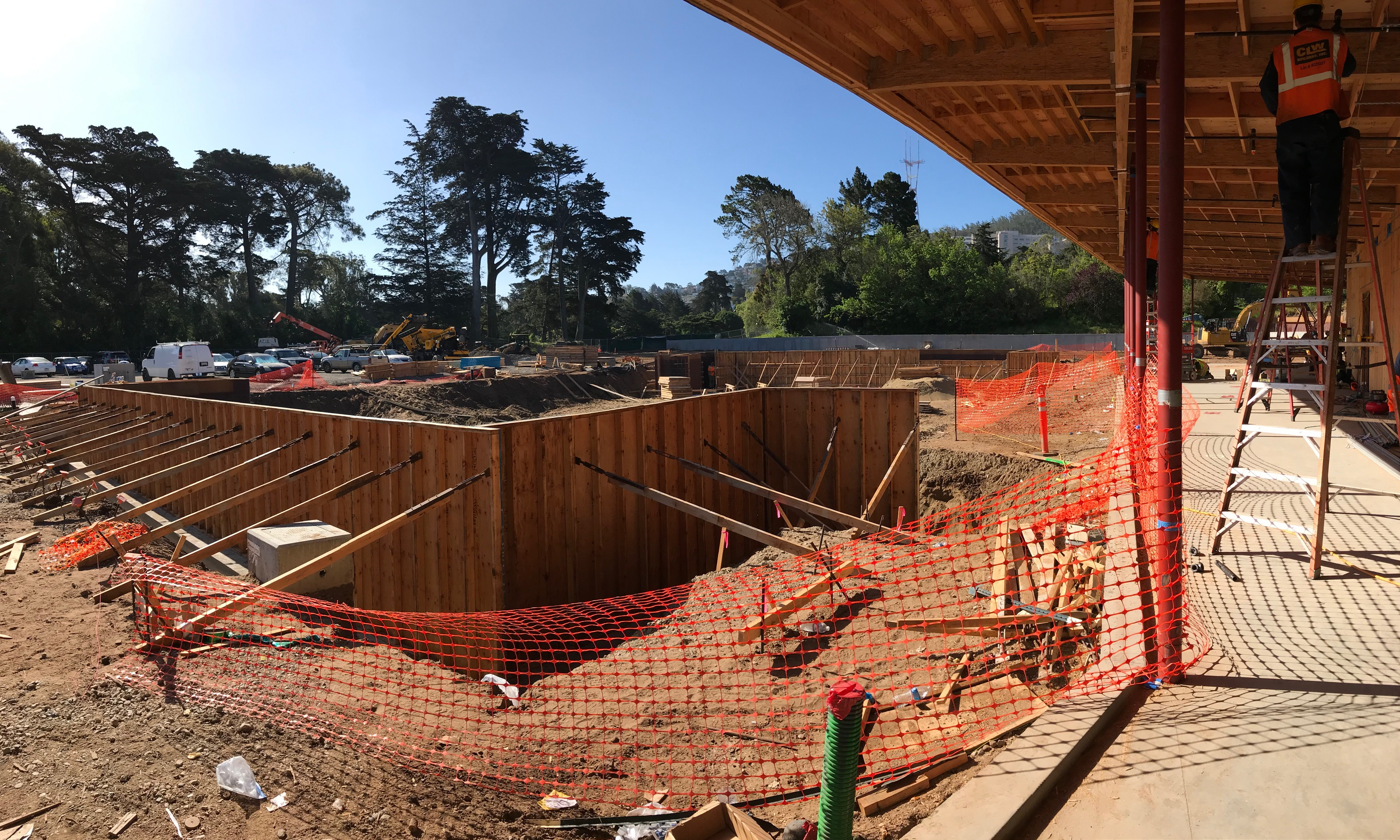 Golden Gate Park Tennis Center Construction June 2020 2