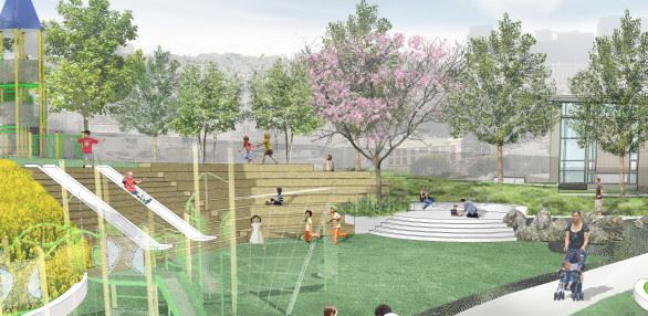 Joe DiMaggio Playground Improvement Project Rendering (JPG) Opens in new window