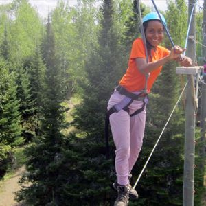 Outward bound ropes course